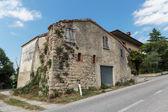 типичный тосканский фермерский дом — Стоковое фото