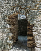 Arch in medieval fortress — Stock Photo