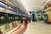 Interior metro station in Dubai UAE — Stock Photo