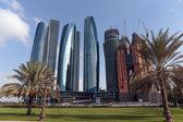 Skyscrapers in Abu Dhabi — Stock Photo