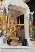 Buddhist altar in Thailand — Stock Photo