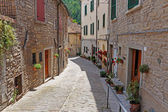 Street in the old town in Italy — Stock Photo