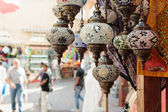 Traditional Arabic lamp — Stock Photo