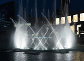 Fountains downtown, Dubai UAE — Zdjęcie stockowe