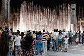 Fountains downtown, Dubai UAE — Stock Photo