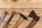 Vieux outils de menuiserie — Photo