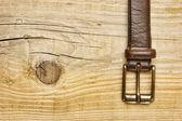 革のベルト — ストック写真