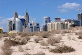 Dubai, zona verdes. emiratos árabes unidos — Foto de Stock