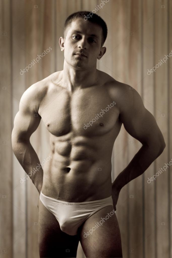 A muscular man  Stock Photo #17061861