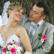The groom and the bride — Stock Photo #1739854