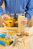 Carpenters work — Stock Photo