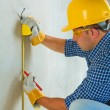 Stock Photo: Contractor do laiering