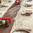 Restaurant table — Stock Photo #21731295
