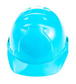 Blue helmet isolated — Stock Photo