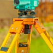Stock Photo: Theodolite close up