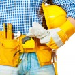 Stock Photo: Worker with tools