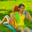 A rest with water — Stock Photo