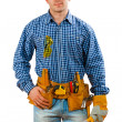 Man in working wear — Stock Photo