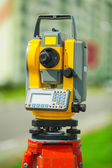 Digital theodolite — Stock Photo