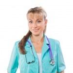 Портрет женщина-врач — Стоковое фото #34212981