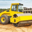 Road roller — Stock Photo #34213245