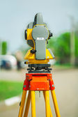 Theodolite side view — Stock Photo