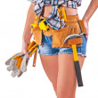 Beautiful female worker — Stock Photo #36064223
