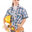 Female worker — Stock Photo