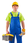 Plumber worker — Stock Photo