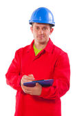 Confident engineer — Stock Photo