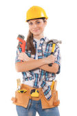 Female worker — Foto de Stock