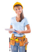 работница — Стоковое фото