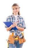 女性労働者 — ストック写真