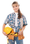 Female worker — Stockfoto