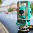 Stock Photo: Theodolite urbstreet