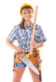 Işçi ve marangoz araçları — Stok fotoğraf