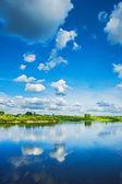 View on riverside — Stock Photo