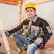 Stock Photo: Carpentry worker