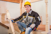 Carpentry worker — Stock Photo