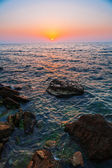 Sea at sunset — Foto Stock
