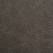 High rezolution texture of black leather — Stock Photo