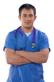 Portrait of young doctor — Stock Photo