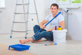 Young men painter — Stock Photo