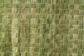 Green bag texture — Stock Photo