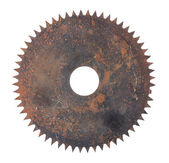 Rusted circular saw — Stock Photo