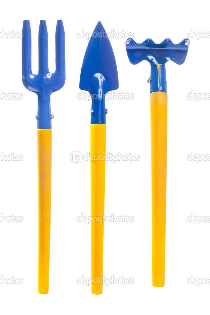 Set Of Small Garden Tools Stock Photo 49522707