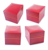 Set of gifts boxes — Stock Photo