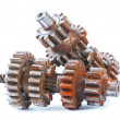 Old rusted gears — Stock Photo #50715435