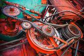 Gear mechanism — Stockfoto