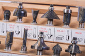 Roundover router bits — Stock Photo